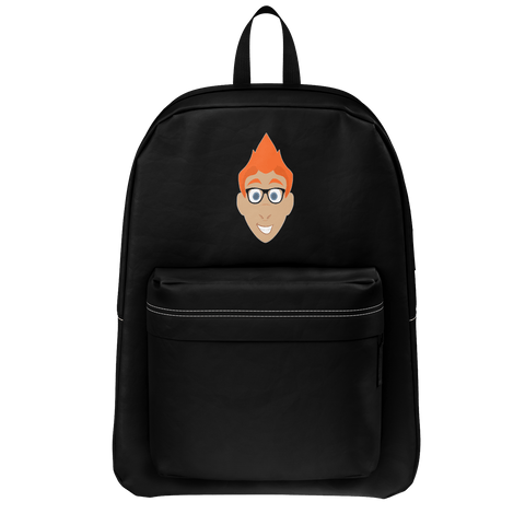 Bart YT Black Logo Backpack