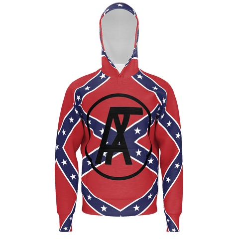 A-TeamMods Rebel Flag Mens Hoodie