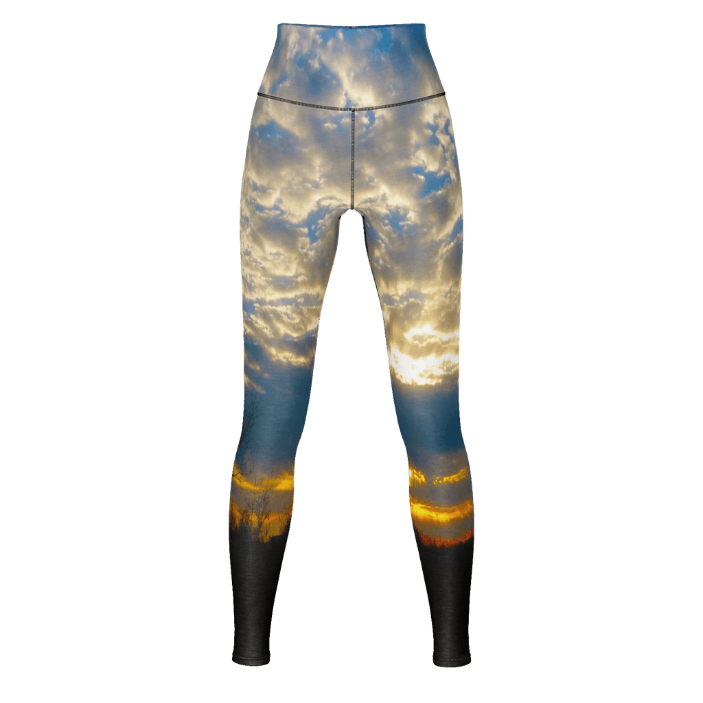 Country Sunrise Yoga Pants