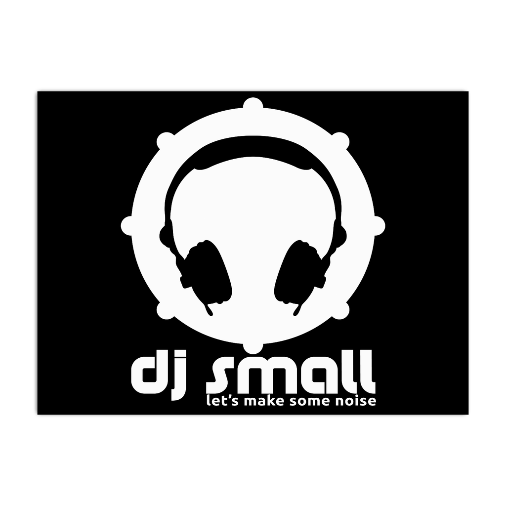 DJ SMALL BLACK POSTER