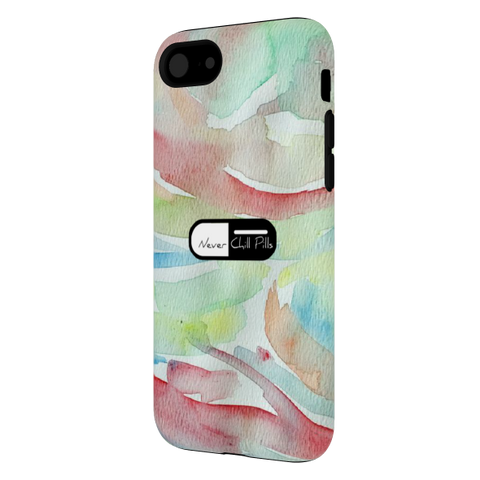Never Chill Pills - Water Color iPhone 7 Case