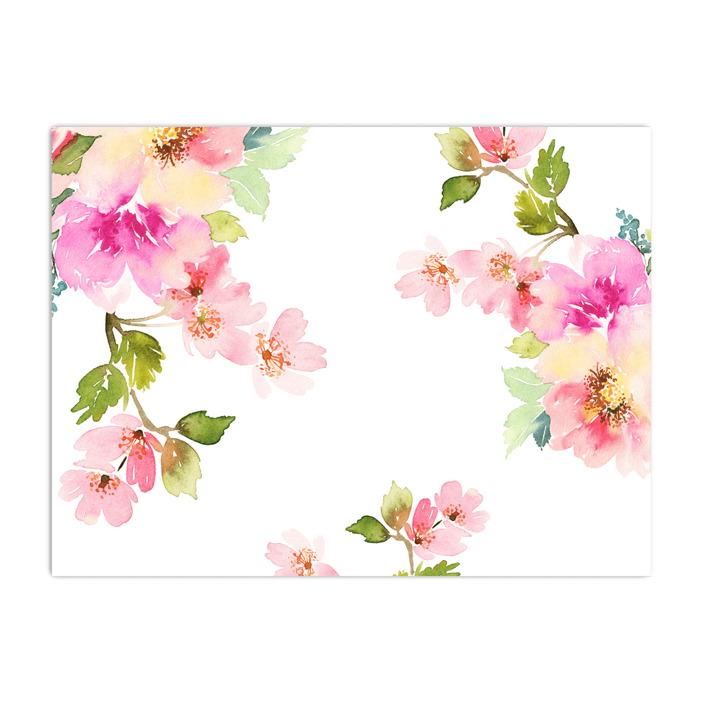 Poster horizontal Floral