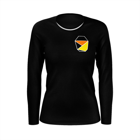 Womens Long Sleeve Shirt Black