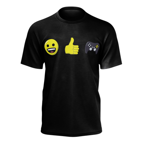 EmojiThumbsGaming T-Shirt (Adult) / Black