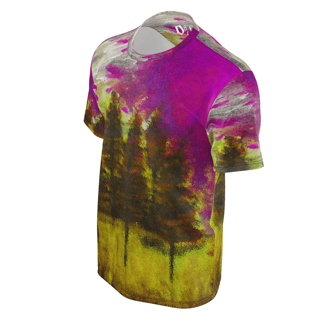 Yellow Forest Men's T-Shirt