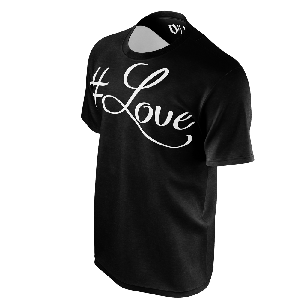 #Love Men's T-Shirt (Black)