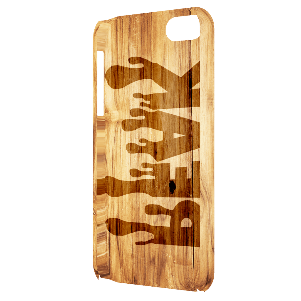 Wooden Design iPhone 5/iPhone 5S/iPhone SE Peak Slim Case