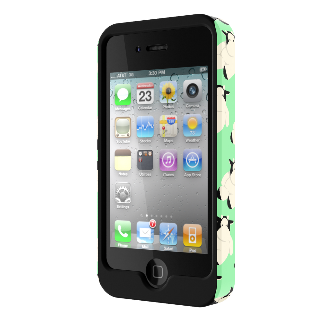Big Fat Moo iPhone 4 Tough Case