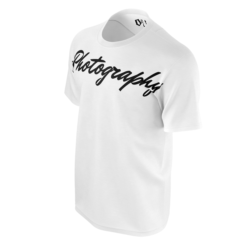 #Photography Men's T-Shirt (White)