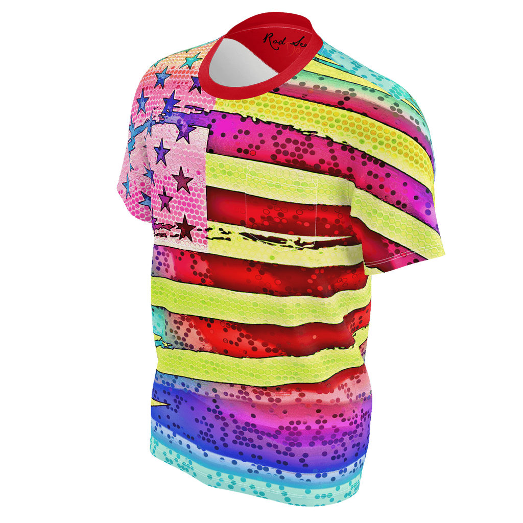 PATRIOTIC MAGIC 3- Men's Pocket Tee