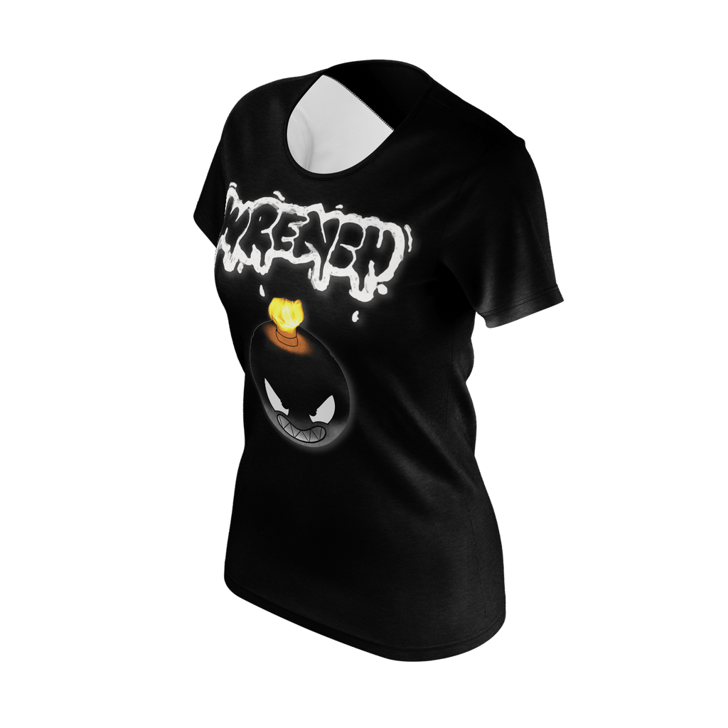 Wrench Womans T-Shirt Black