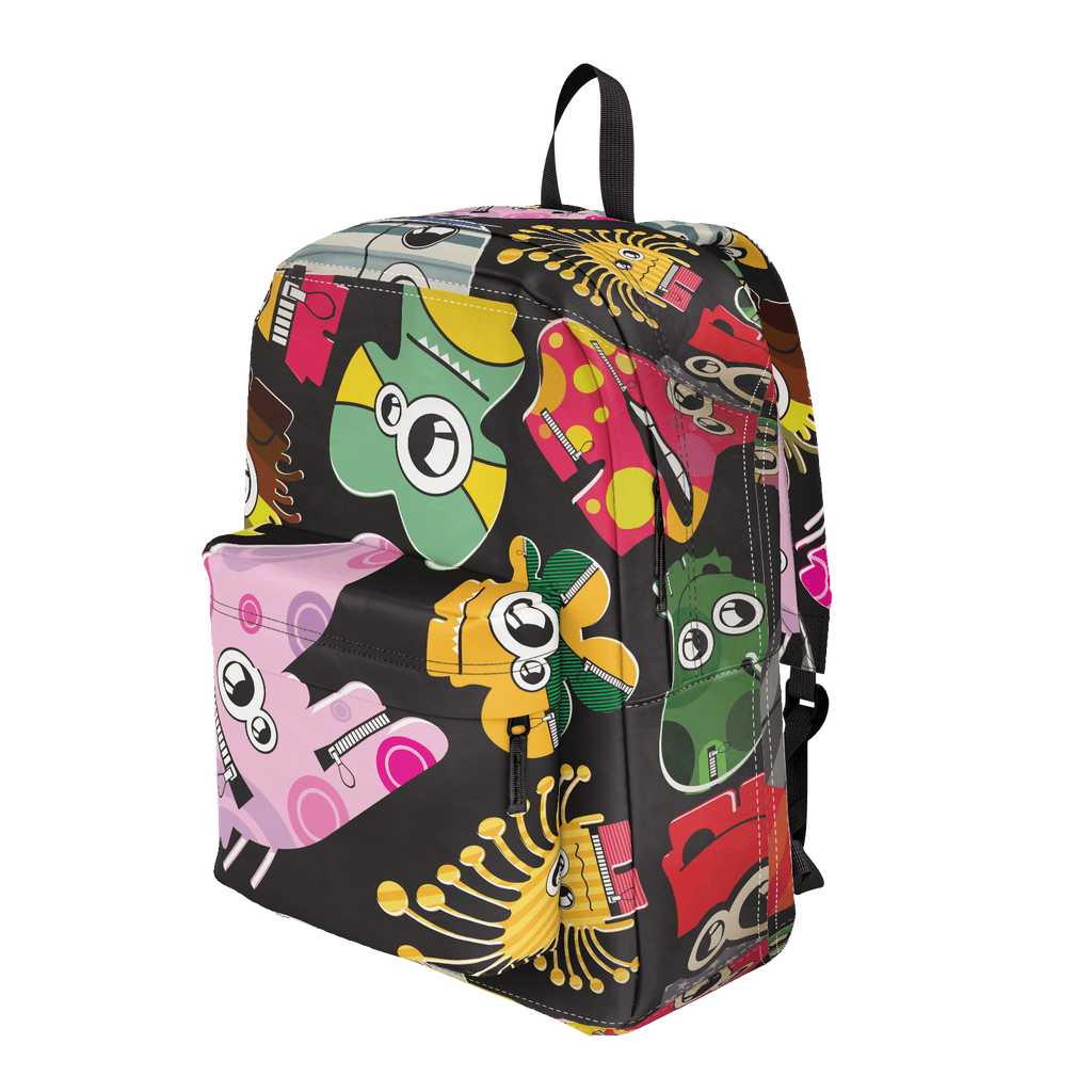 School Bus Aliens Backpack 30