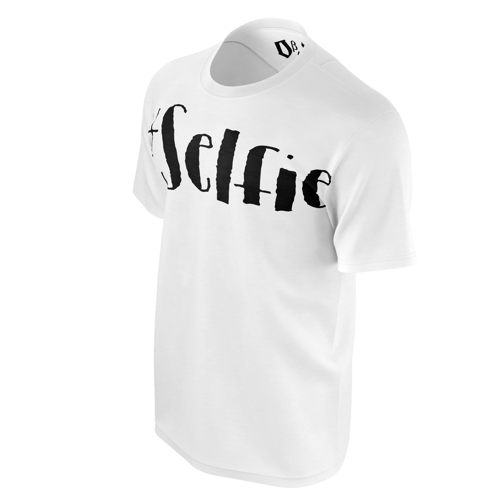 #Selfie Men's T-Shirt (White)