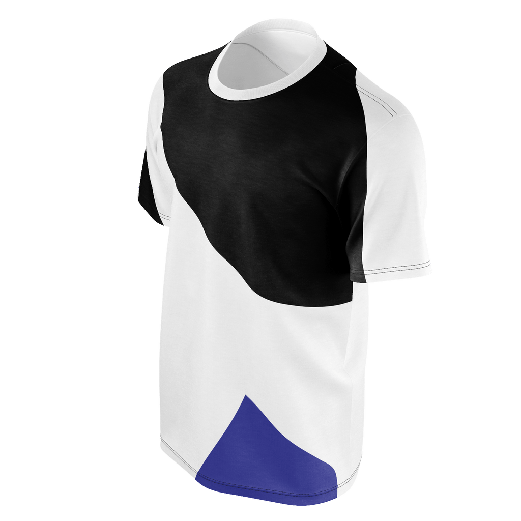 CVMUSIC ABSTRACT STYLE White Black Blue
