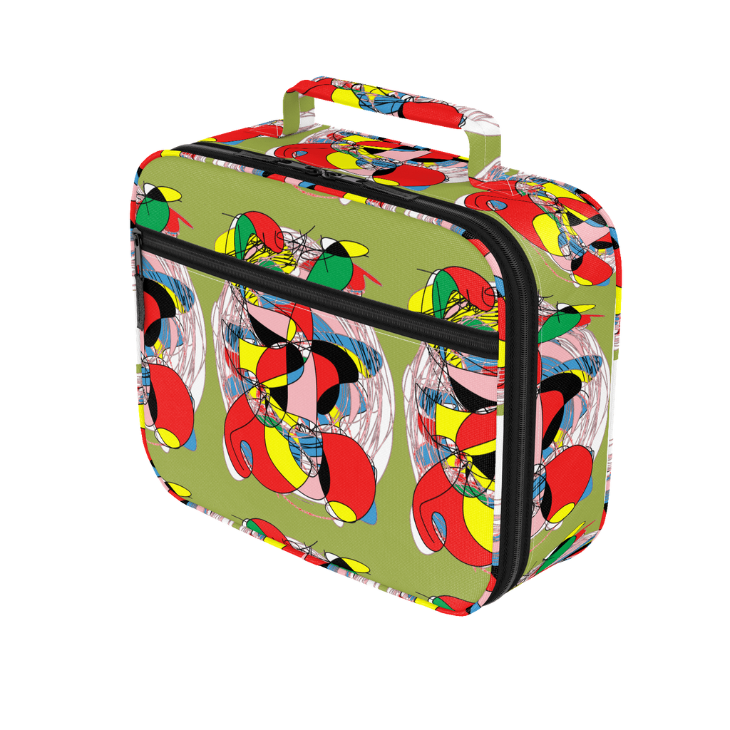 Greeny Party RegiaArt Lunch Box Bag
