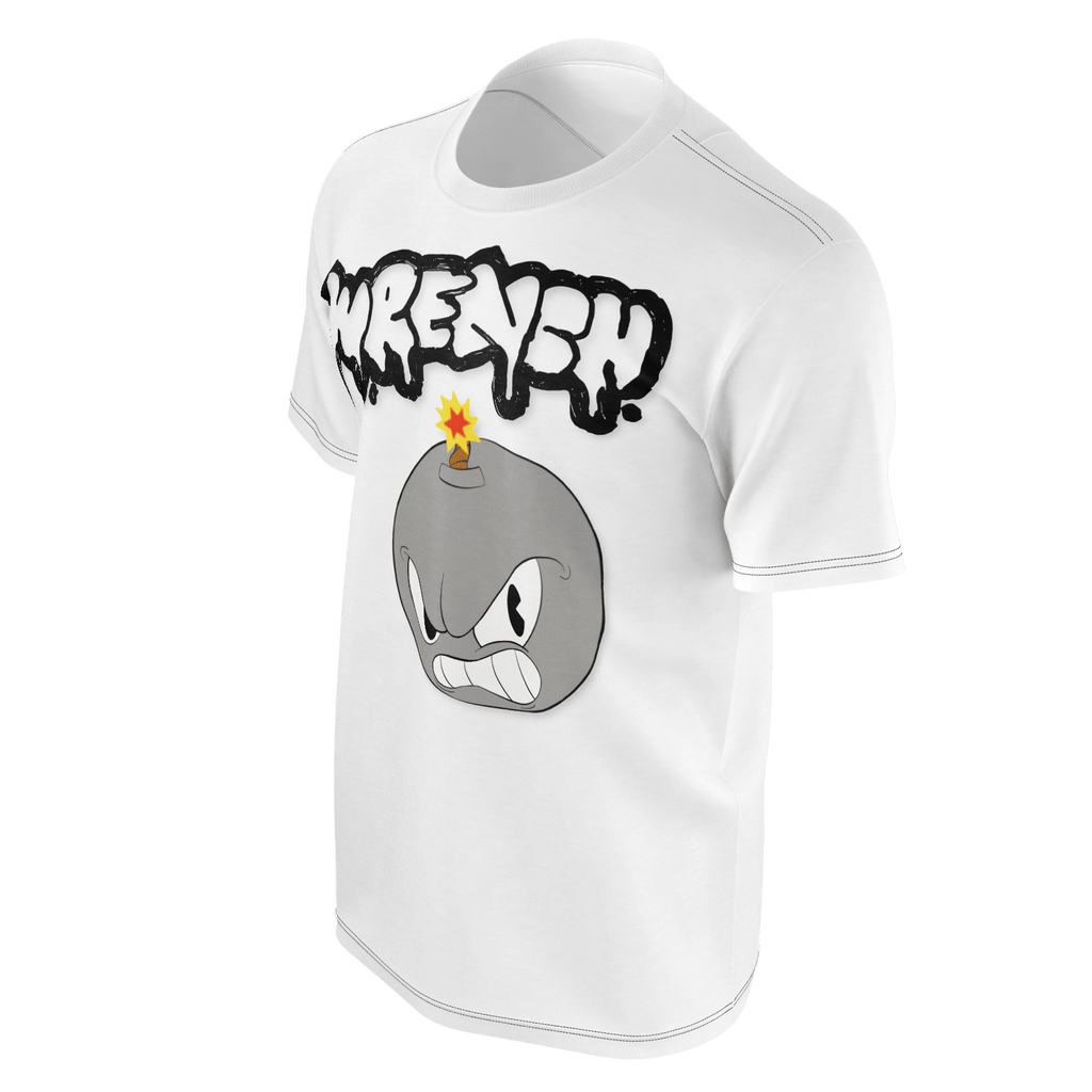 Wrench Mens T-Shirt White