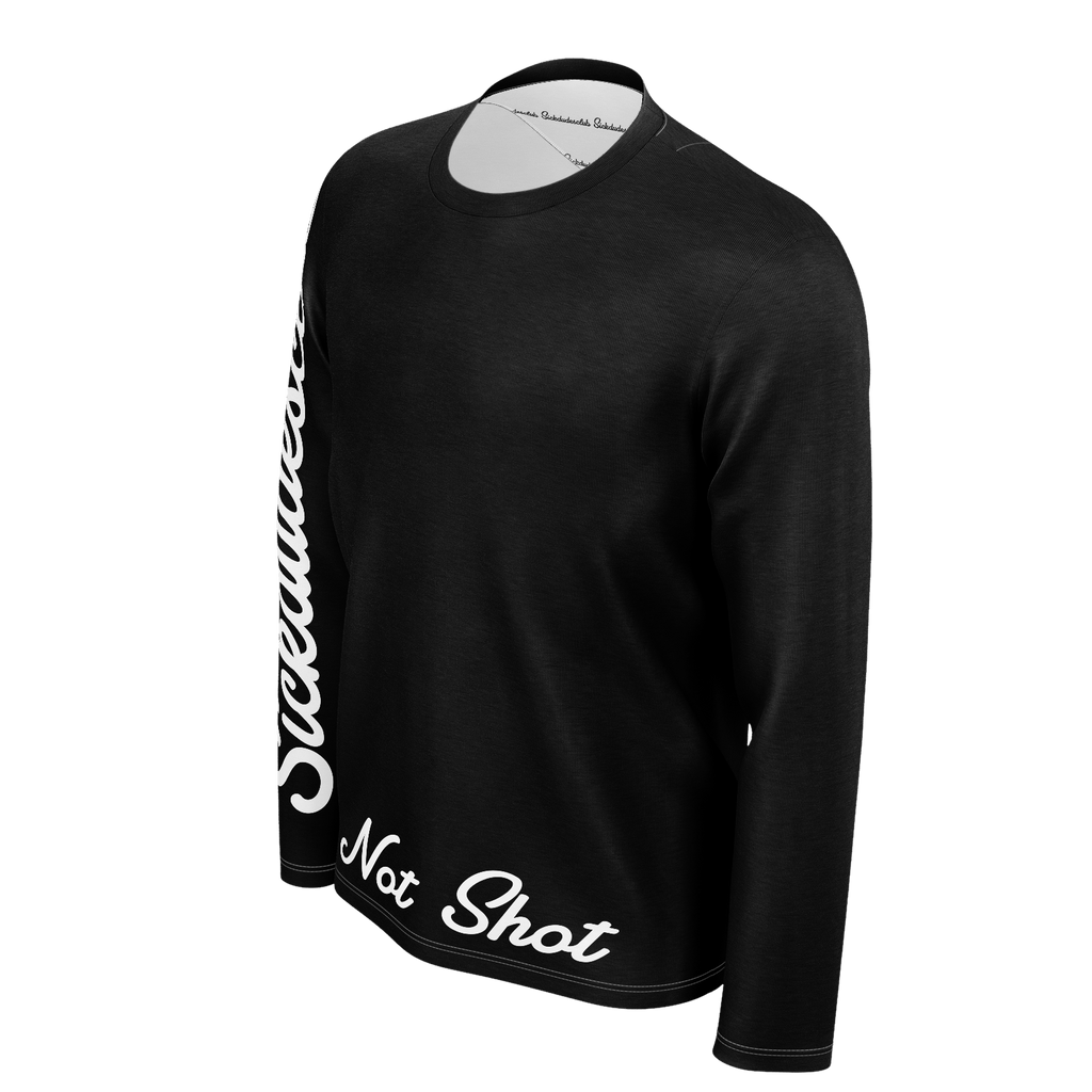 Not Shot Dudes B&W Long sleeve