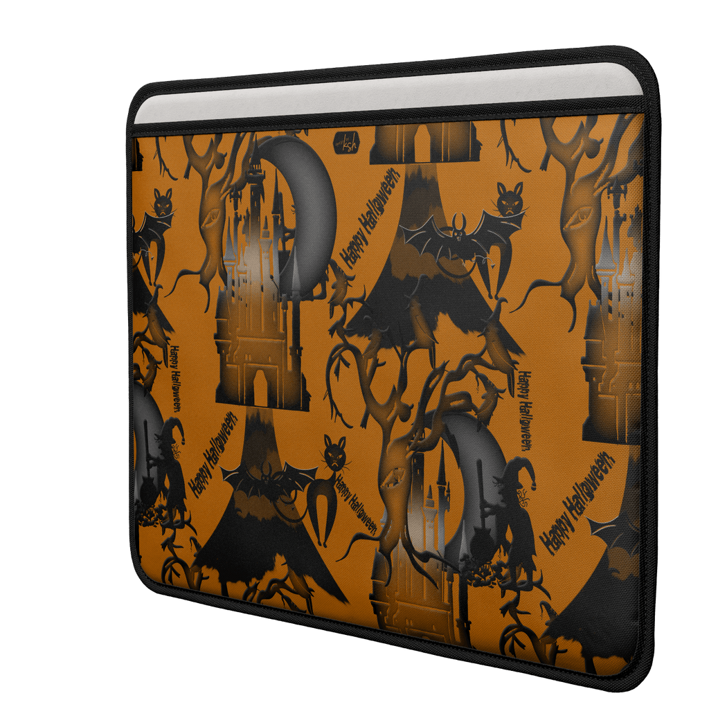 ksh, Holiday, Halloween, Macbook Air Open Laptop Sleeve