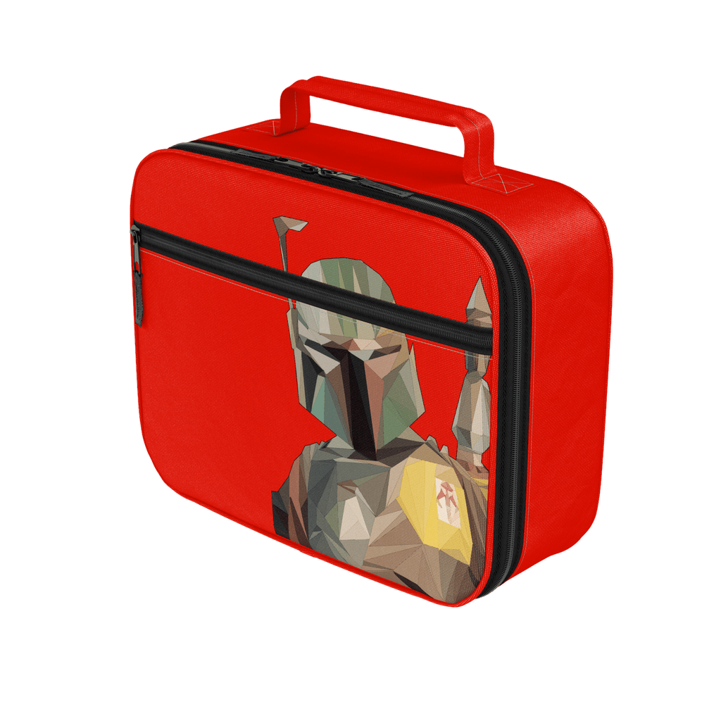 Low Poly Boba Fett Lunchbox
