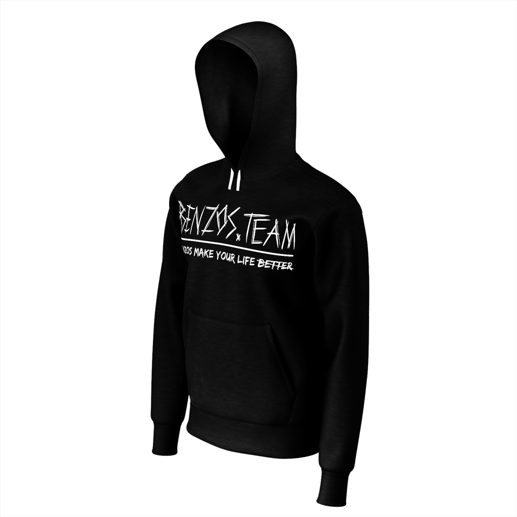 BENZOS.TEAM Hoodie without names for mens