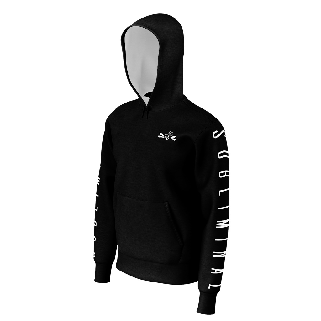 OD Badge Subliminal Black Hoodie