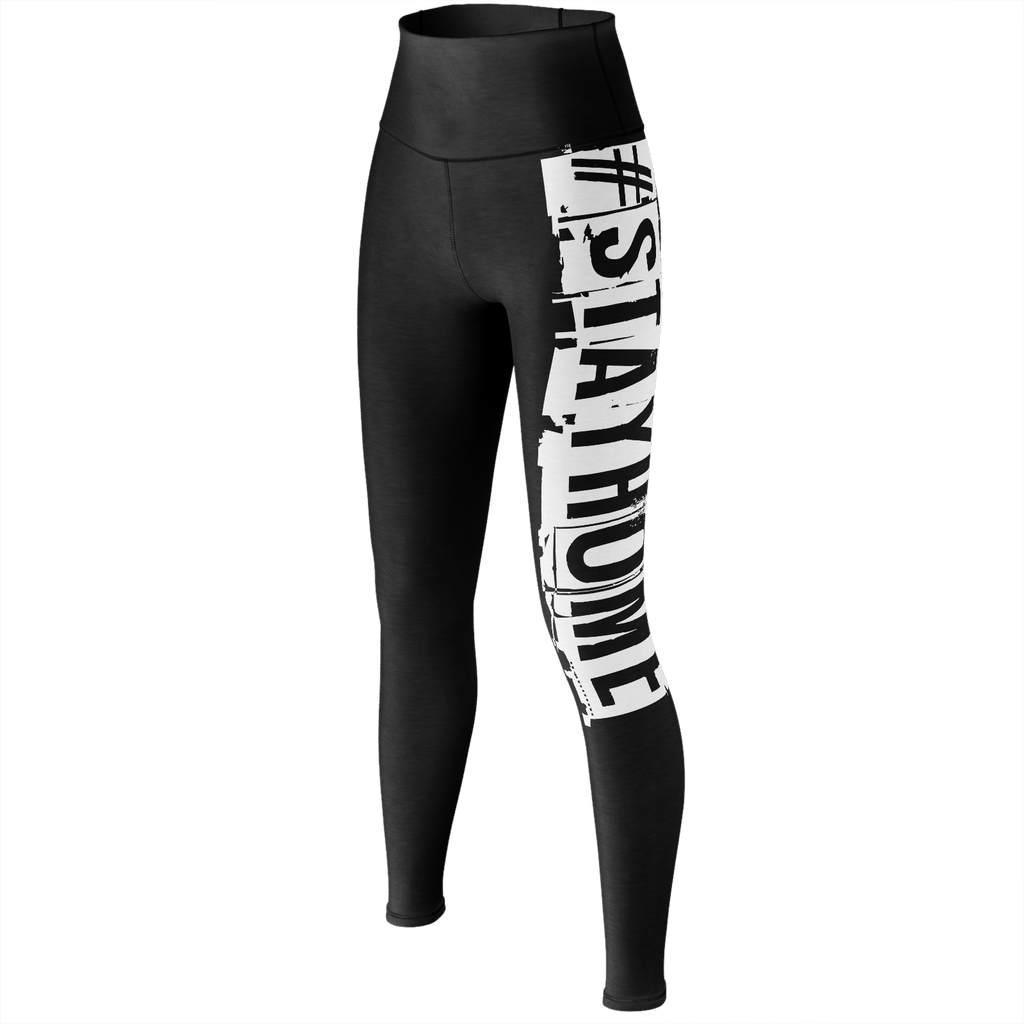 #StayHome Yoga Pants(Black 2)
