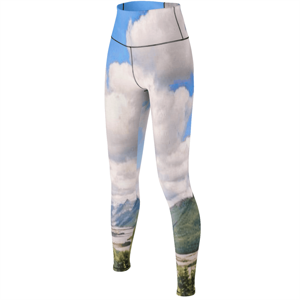 Mount St. Helens Yoga Pants