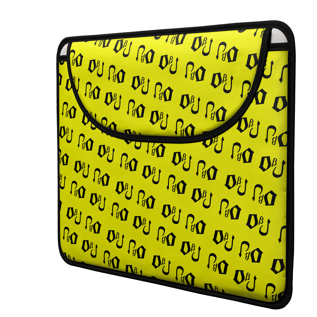 DbJ Envelope Laptop Sleeve(Yellow)
