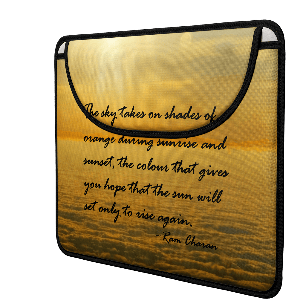 Sea of Clouds (Quote) Envelope Laptop Sleeve