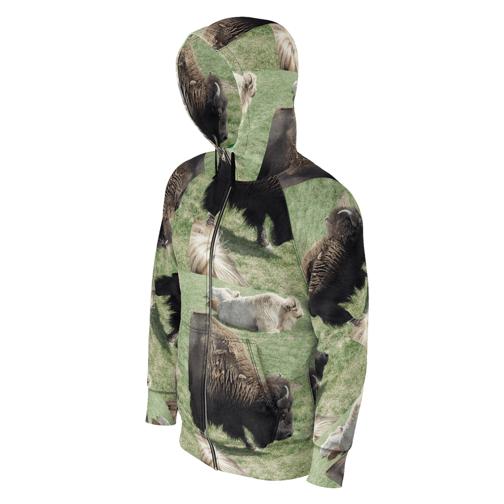 Bison Hoodie, New Rainz brand, wildlife clothing