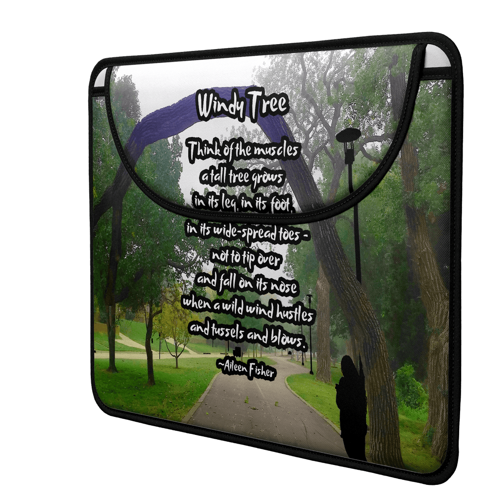Nature's Path (Poem) Envelope Laptop Sleeve