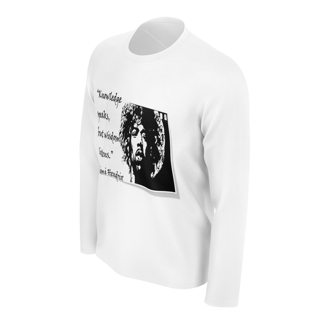 Knowledge Long Sleeve Tee
