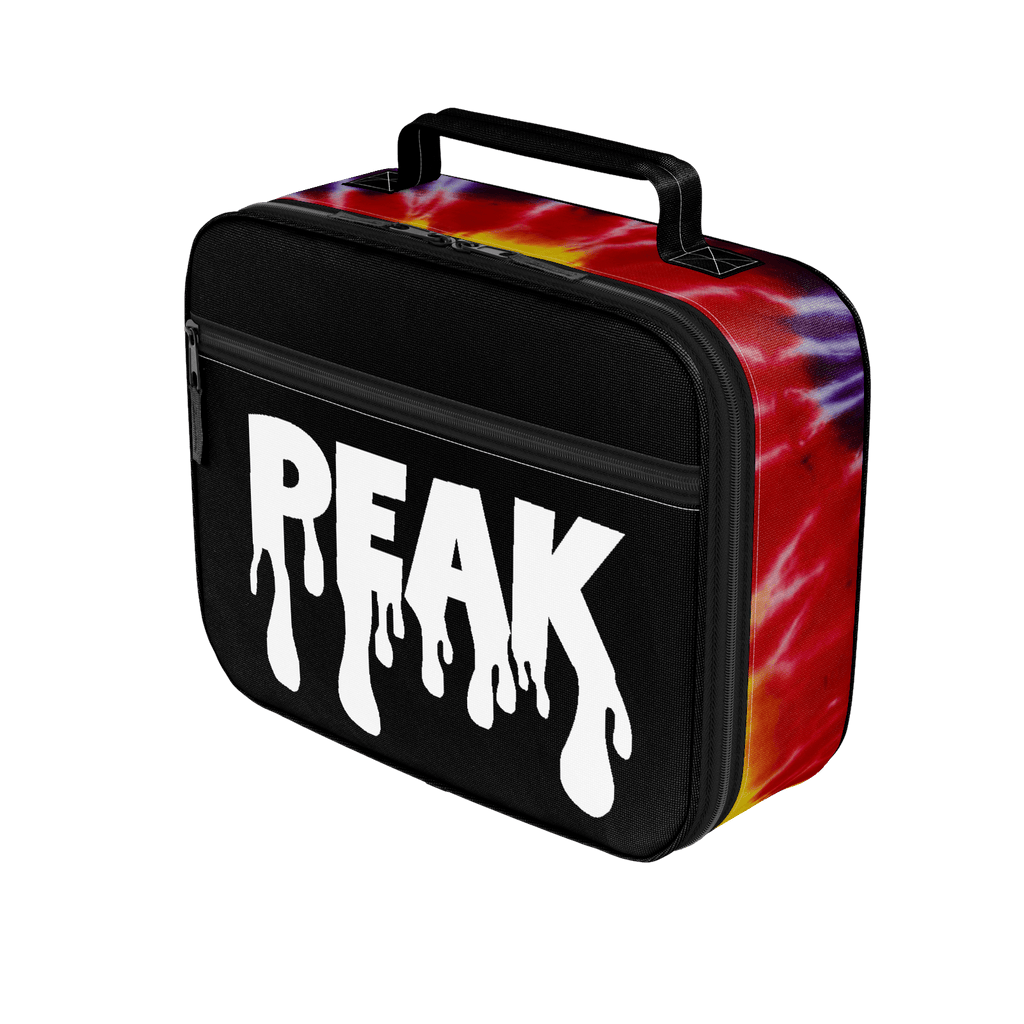 Tiedye and Black Peak Lunchbox