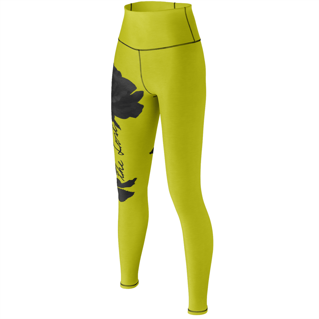 Remember the Lost Yoga Pants (Mustard)