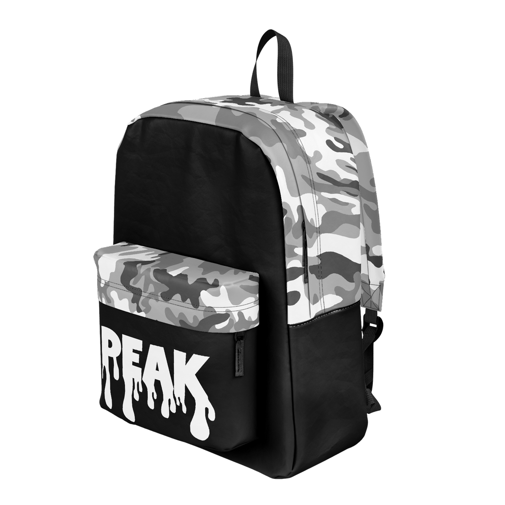 White Camo Peak Backpack
