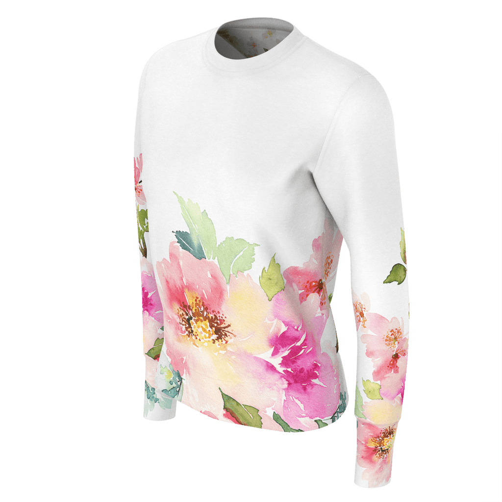 Womans Sweatshirt 260gsm Floral