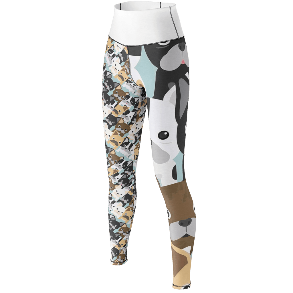 British Bulldog Yoga Pants