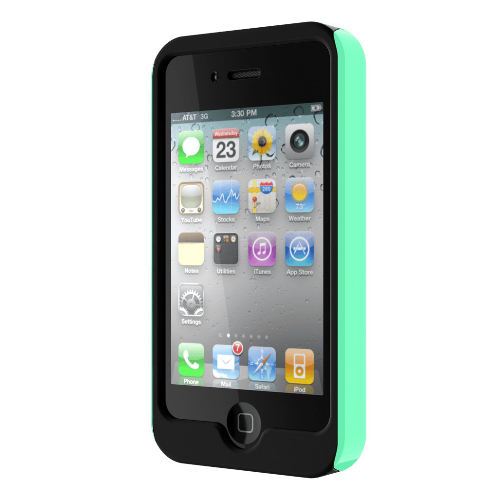 Tap Tap Click logo IPhone 4 case