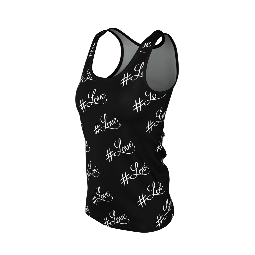 #Love Women's SJ Tank Top (Black)