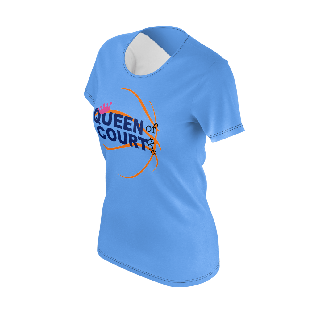 Queen of the Court Basketball Tee
