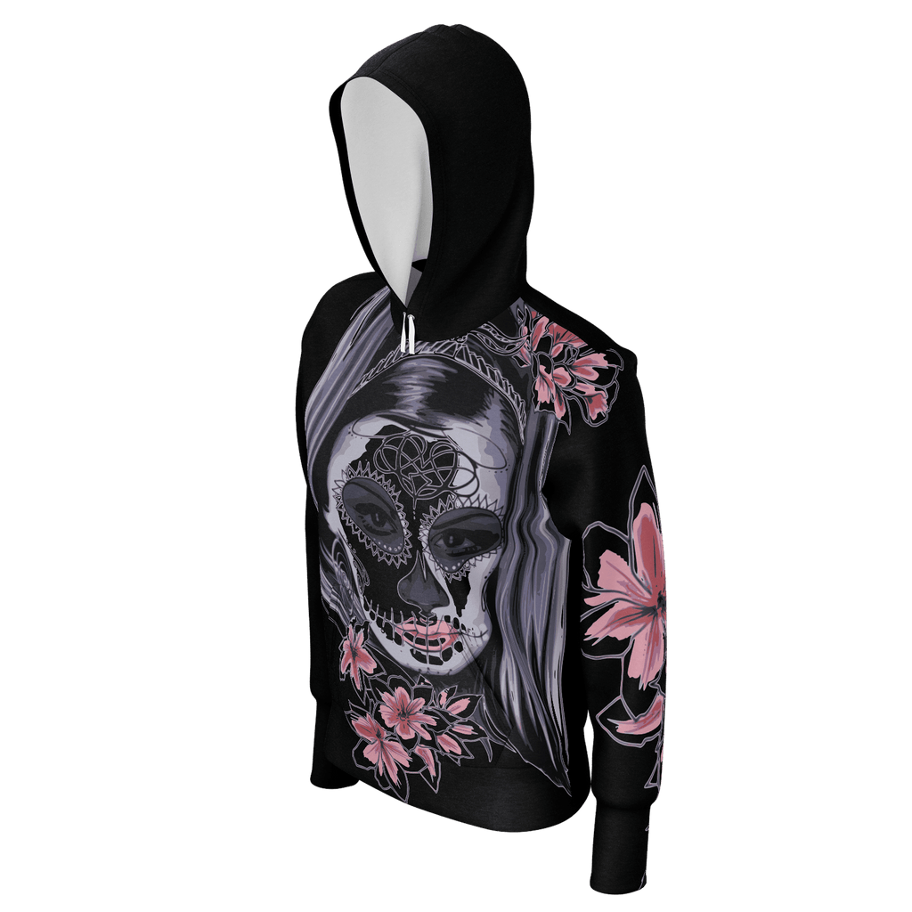 "Womans Hoodie ""SUGAR SKULL"" Edition (Limited)"