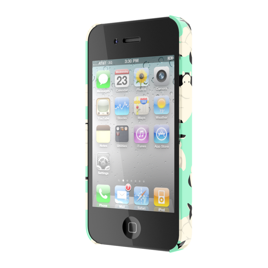 Big Fat Moo iPhone 4 Slim Case
