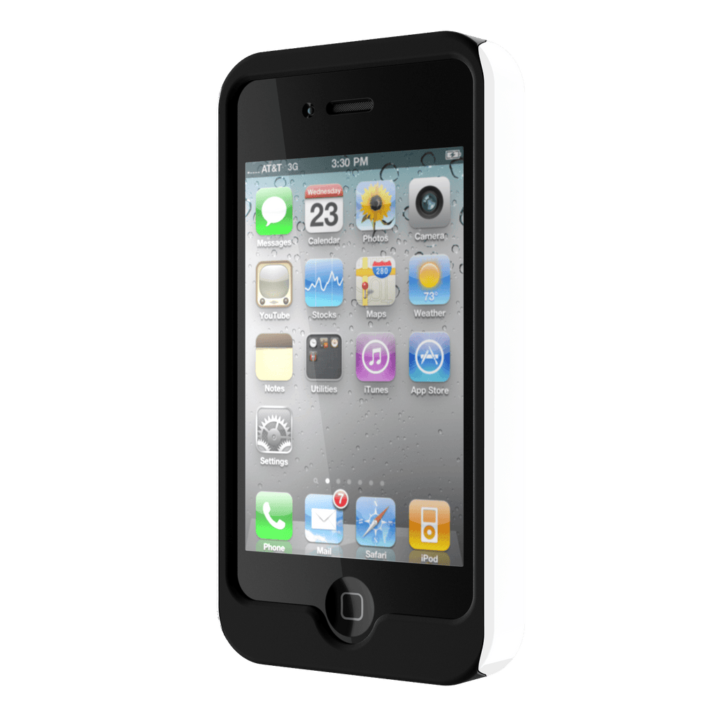 White iPhone 4 Tough Case