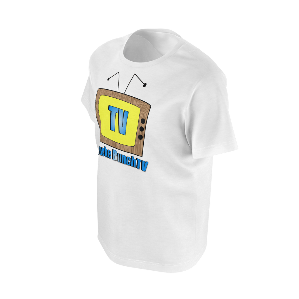 Boy's T-Shirt - Burke BunchTV Logo (Single Jersey)