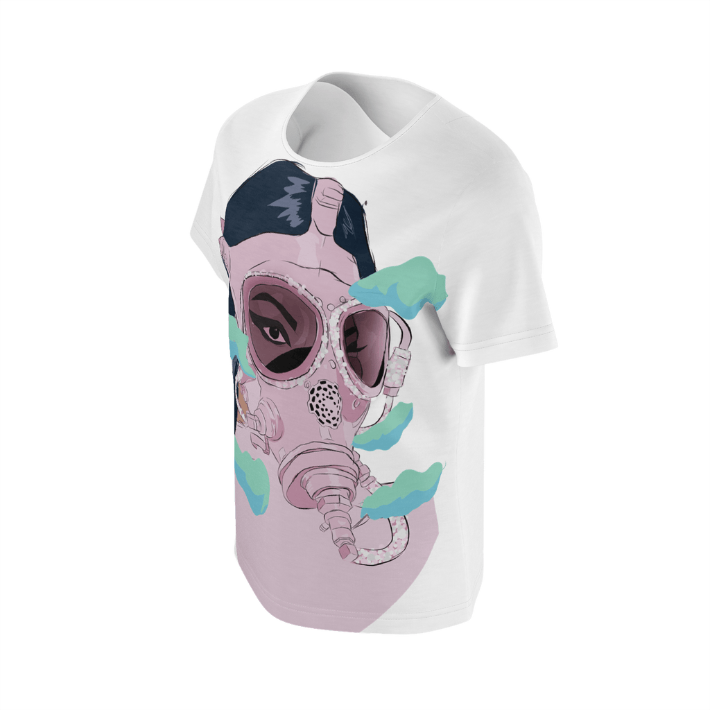 Crystal Gas Mask White
