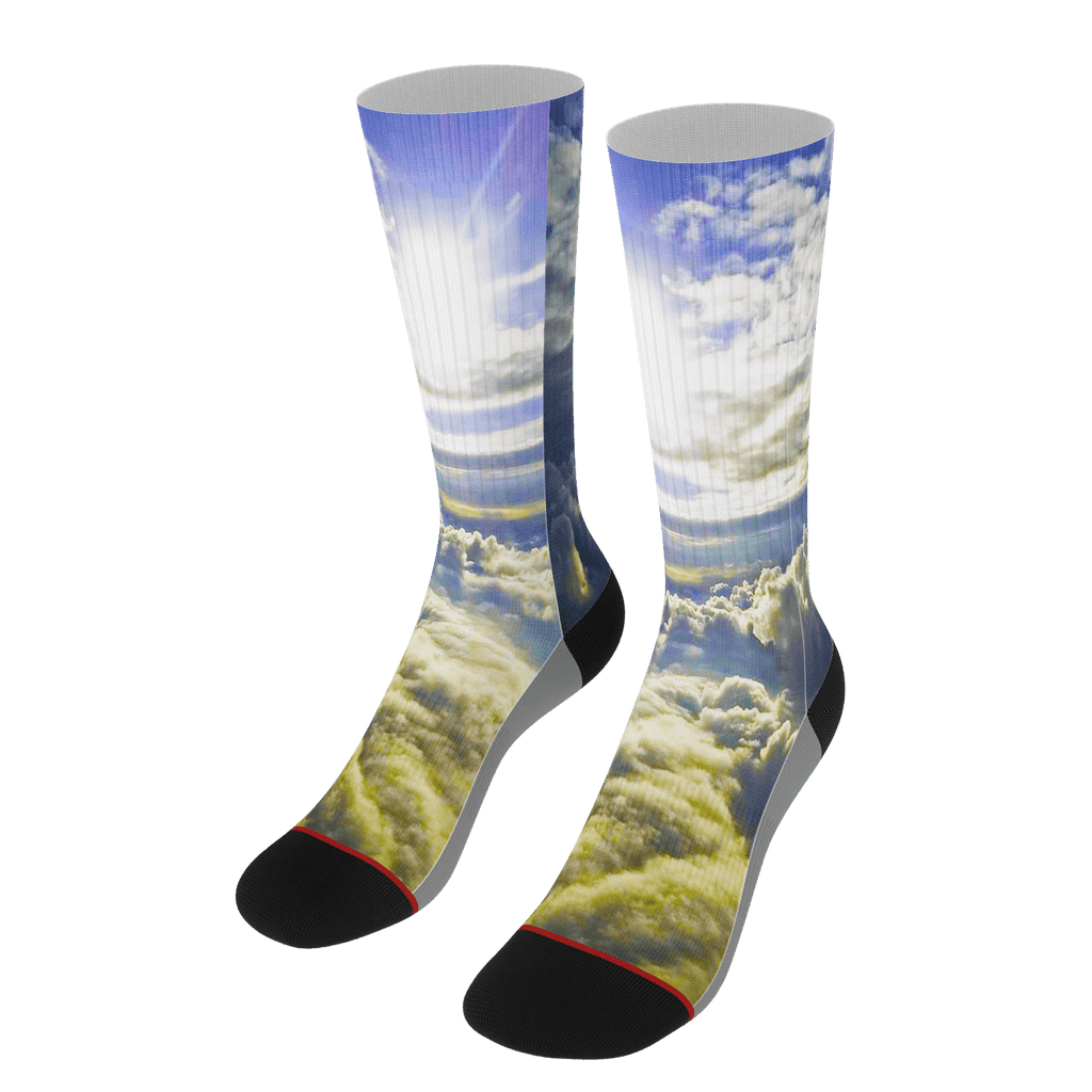 Above the Clouds Socks