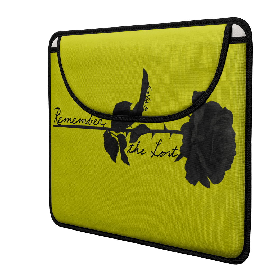 Remember the Lost Envelope Laptop Sleeve (Mustard)