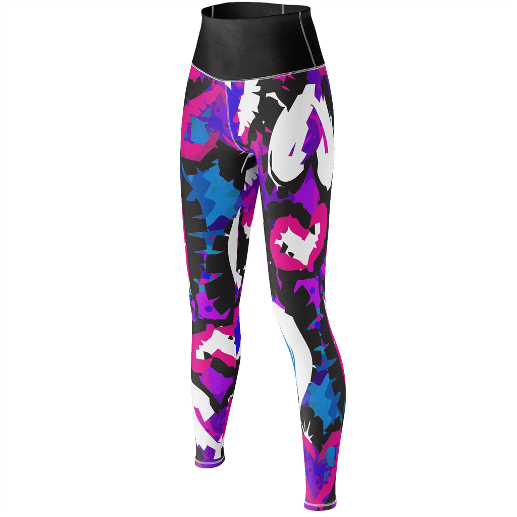 Wild Shaped Hearts Yoga Pants