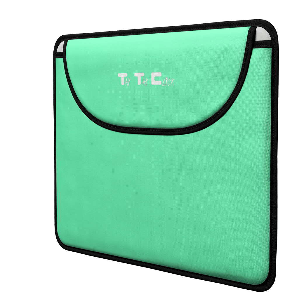 Tap Tap Click Channel Art Envelope Top Laptop Sleeve