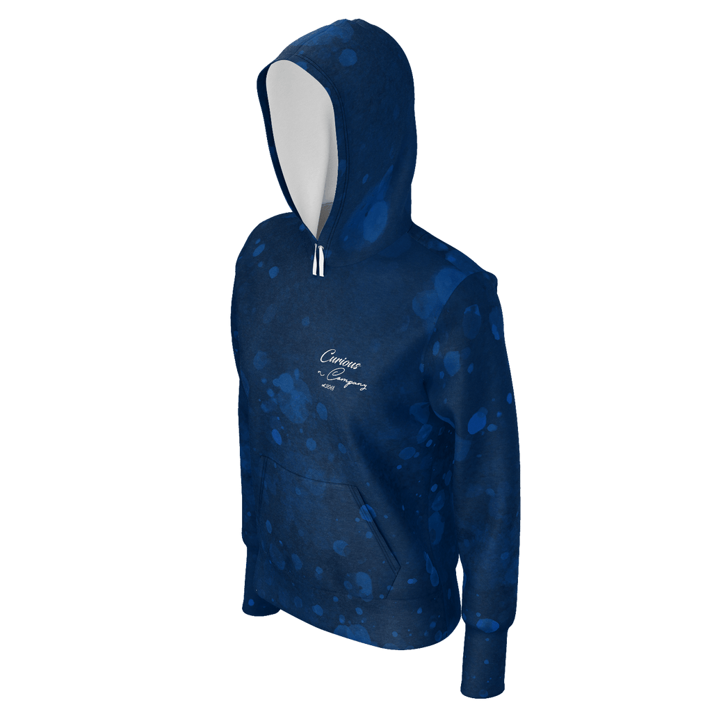 Curious Blotched Womens Hoodie